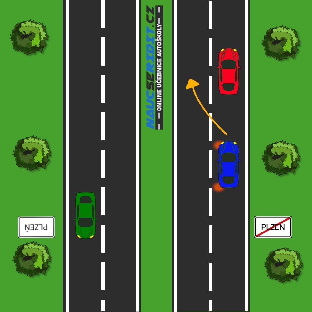 Jízda v pravém jízdním pruhu