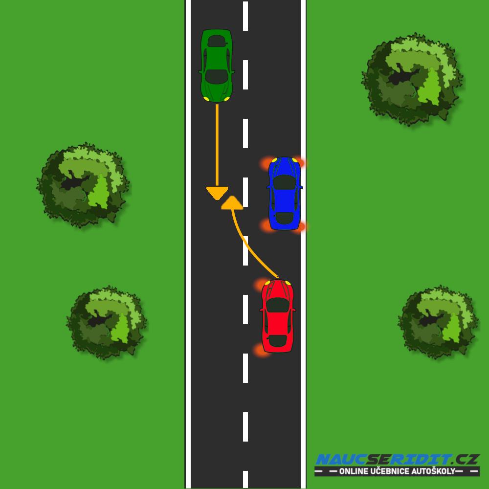 Objíždění vozidla