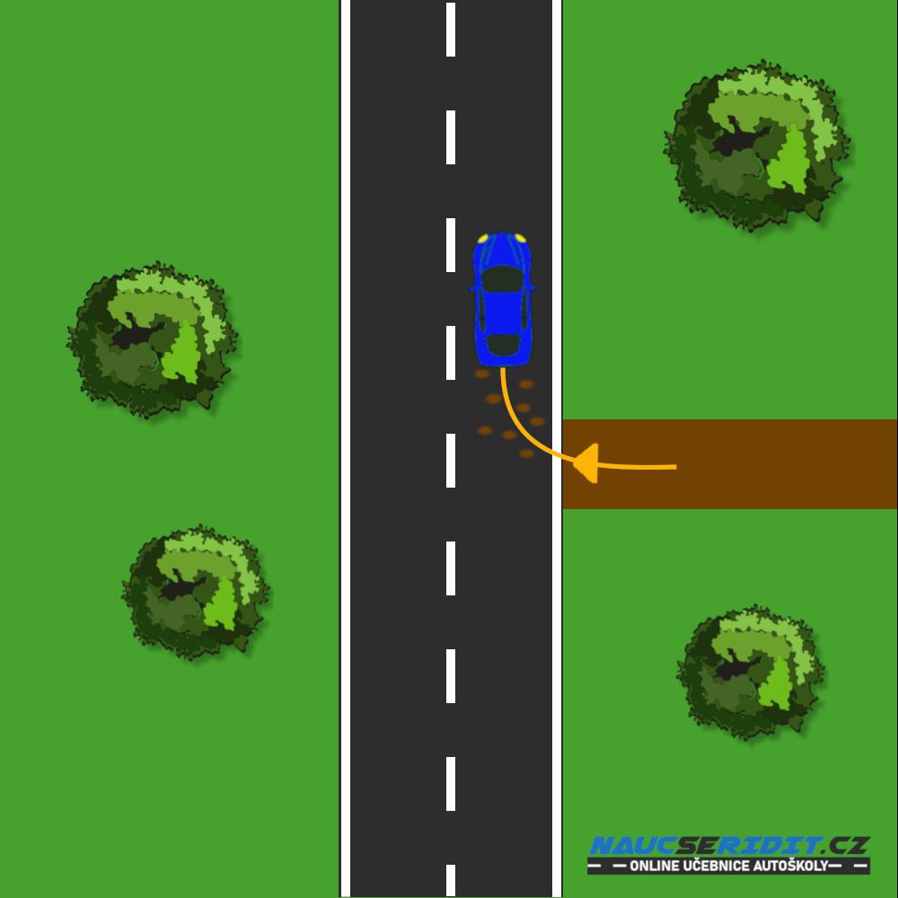 Znečištění komunikace vozidlem