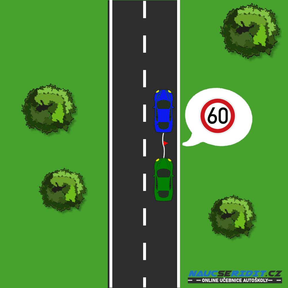 Maximální rychlost při vlečení vozidla