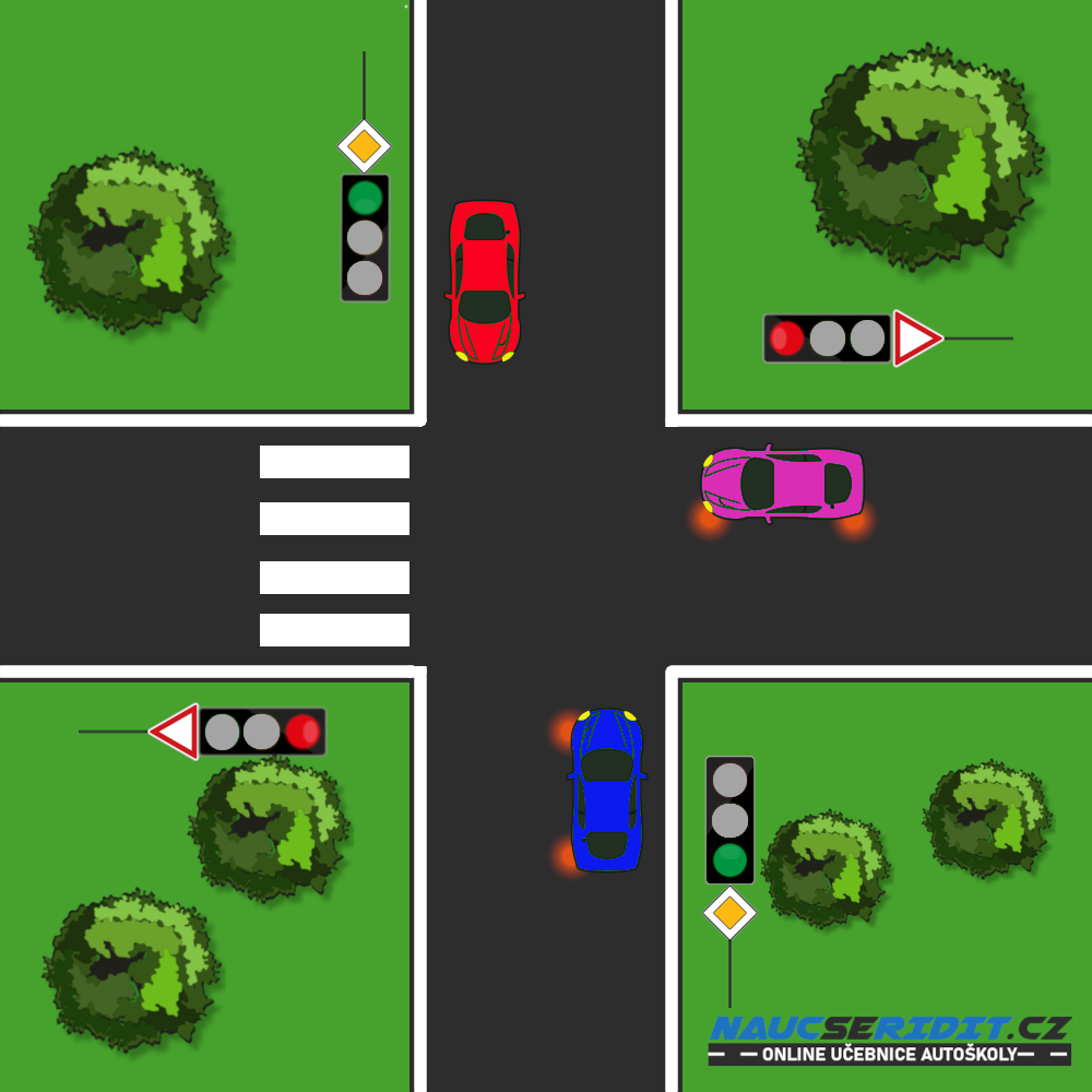 Krizovatka-semafor-prechod
