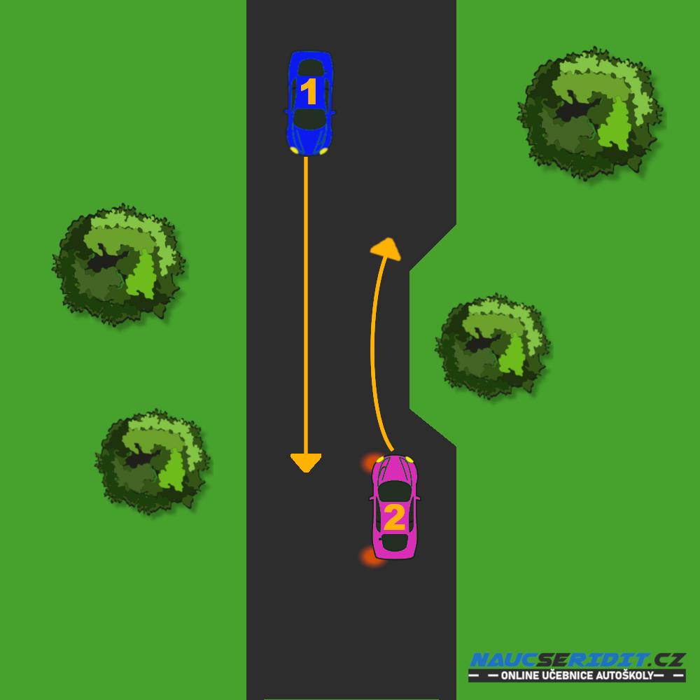 Vyhýbání vozidel