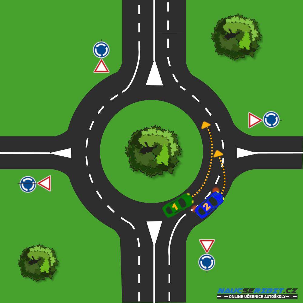 Kruhový objezd víceproudý