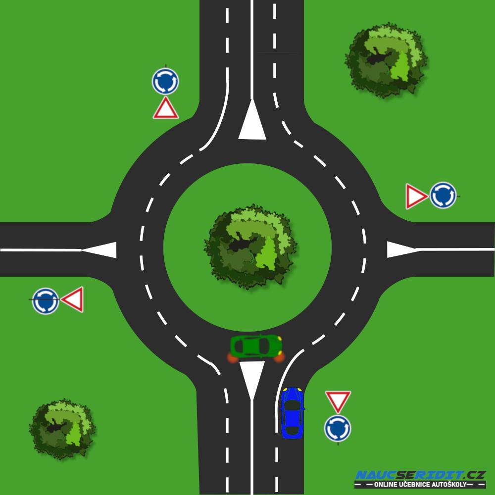 Víceproudý kruhový objezd