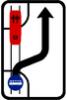 Sjíždění vozidel veřejné hromadné dopravy osob z tramvajového pásu
